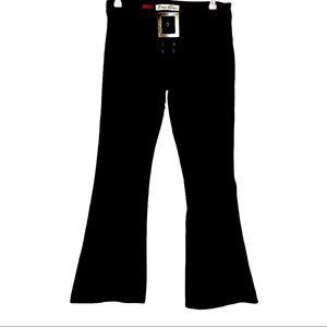 Vintage Y2K low rise black flares 11